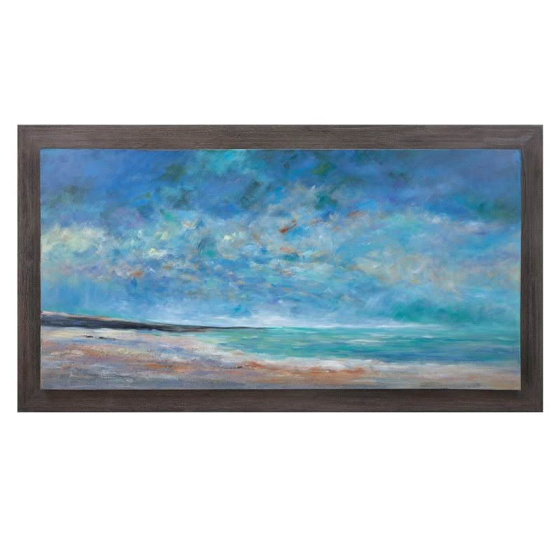 IMAX Sea of Dreams Wood Framed Oil Painting (76282)