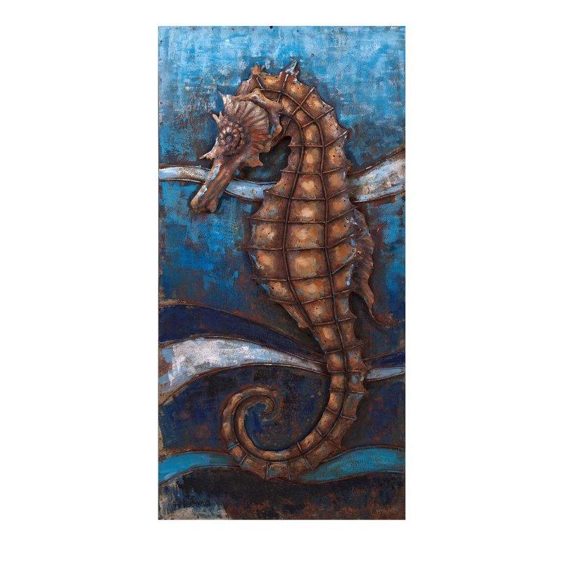 IMAX Seahorse Dimensional Wall Decor (26510)