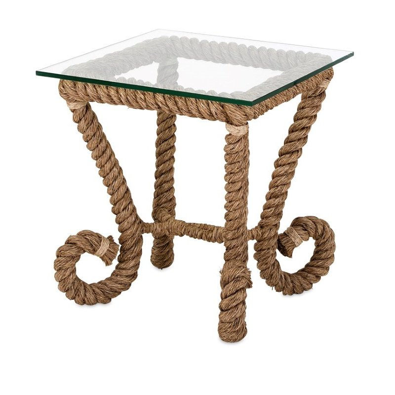 IMAX Tranquil Jute Accent Table (14492)