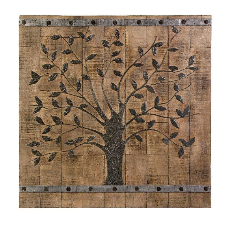 IMAX Tree of Life Wood Wall Panel (73075)