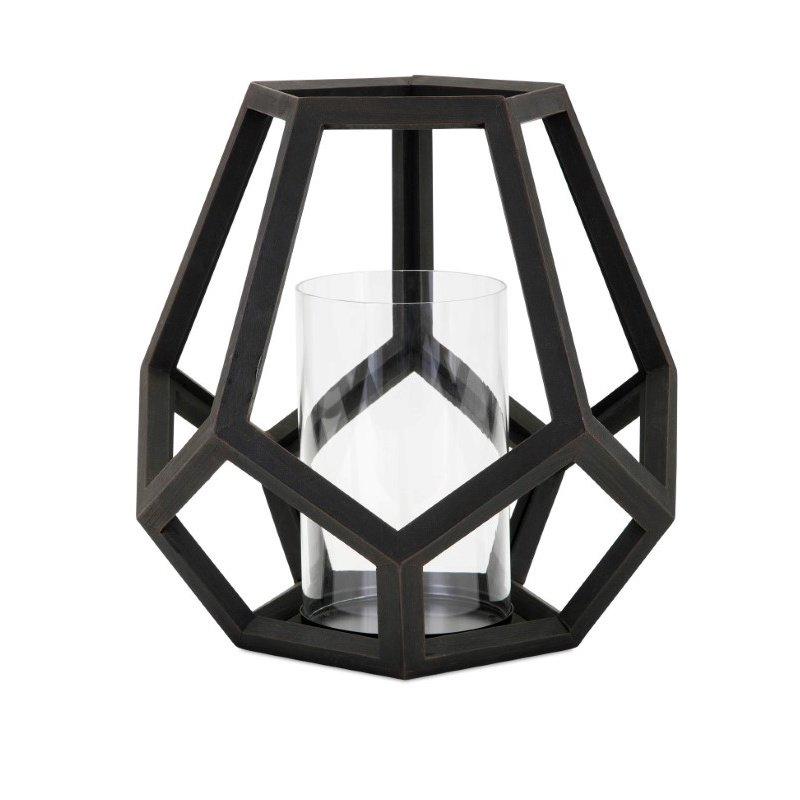 IMAX Ubon Large Wood Lantern (16204)