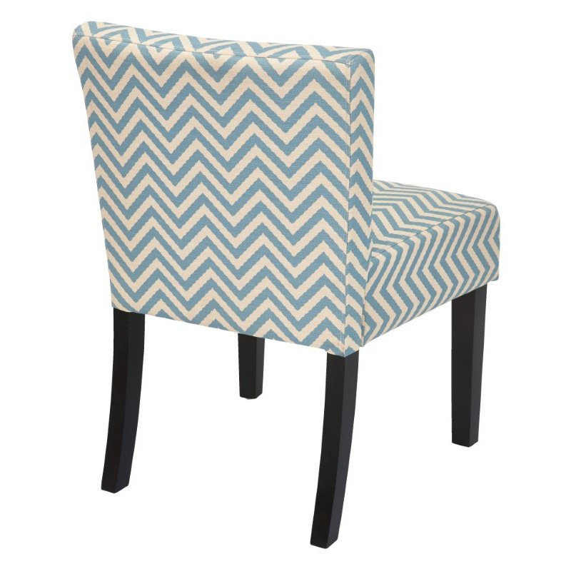 INSPIRED by Bassett Bristol Desk Chair in Ziggy Mist Fabric