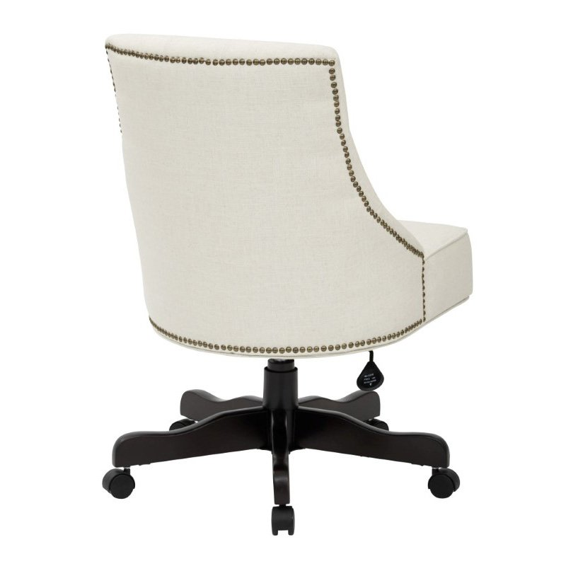 INSPIRED by Bassett Rebecca Office Chair in Linen Fabric