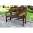 International Caravan Acacia Trinidad Bench in Brown