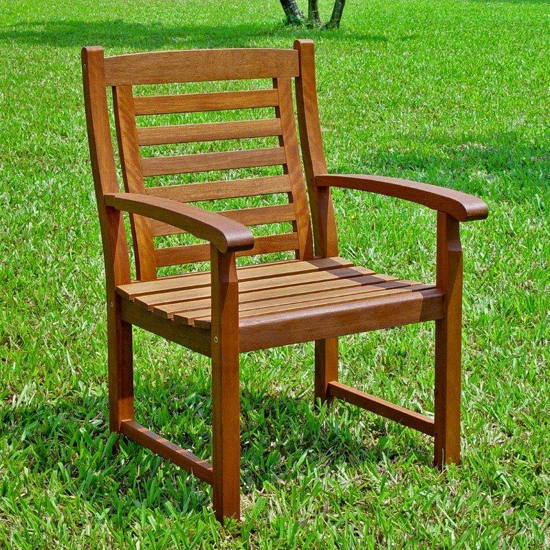 International Caravan Trinidad Chair in Brown