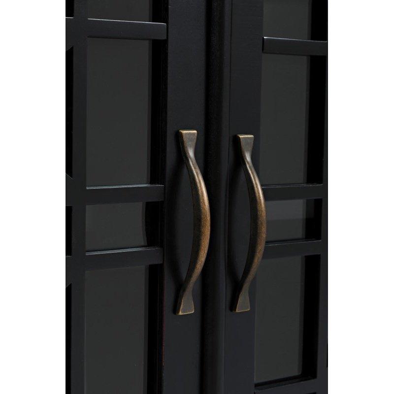 "Jofran Craftsman Antique Black 70"" Media Unit"