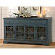 "Jofran Craftsman Antique Blue 60"" Media Unit"