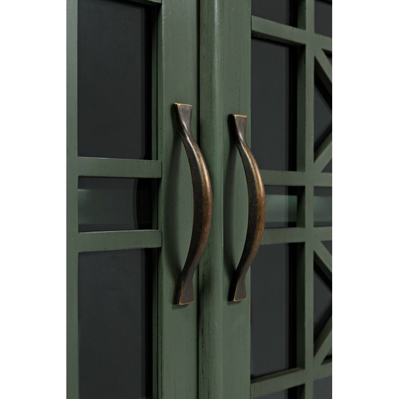 "Jofran Craftsman Antique Jade 70"" Media Unit"