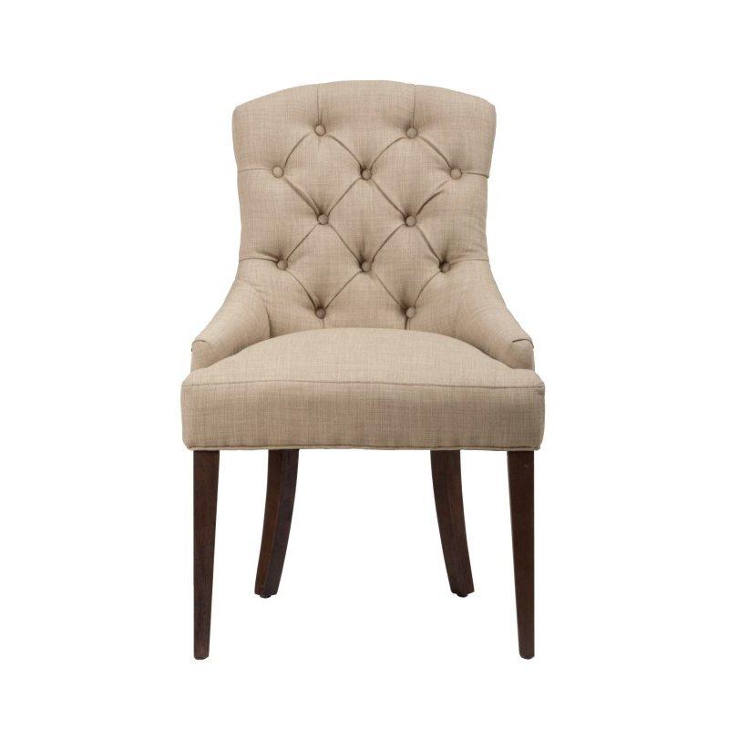 Jofran Geneva Hills Tufted Side Chair