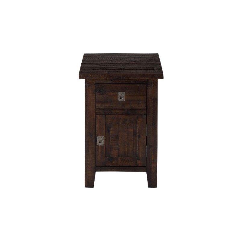 Jofran Kona Grove Cabinet Chairside Table