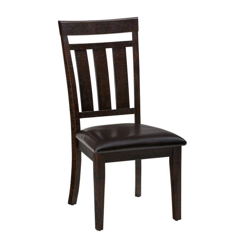 Jofran Kona Grove Upholstered Slat back Dining Chair (Set of 2)