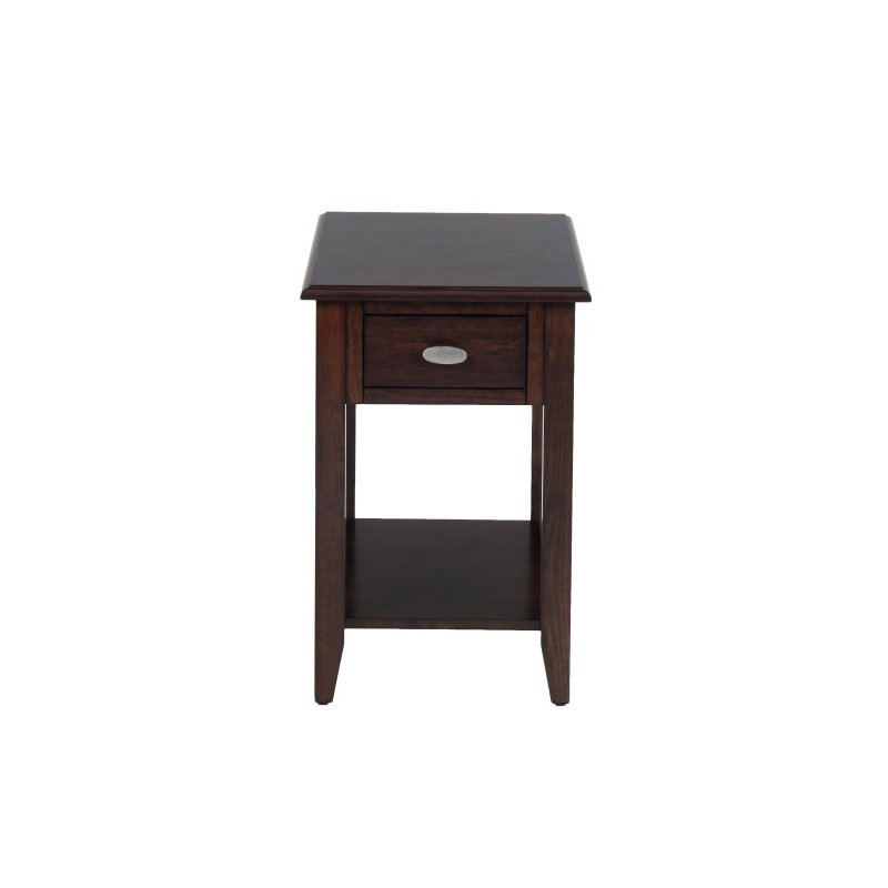 Jofran Merlot Chairside Table