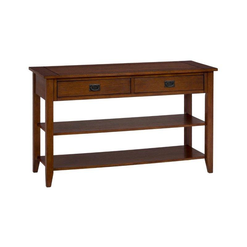 Jofran Mission Oak Sofa Table