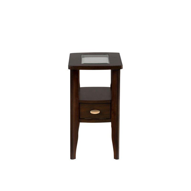 Jofran Montego Merlot Chairside Table