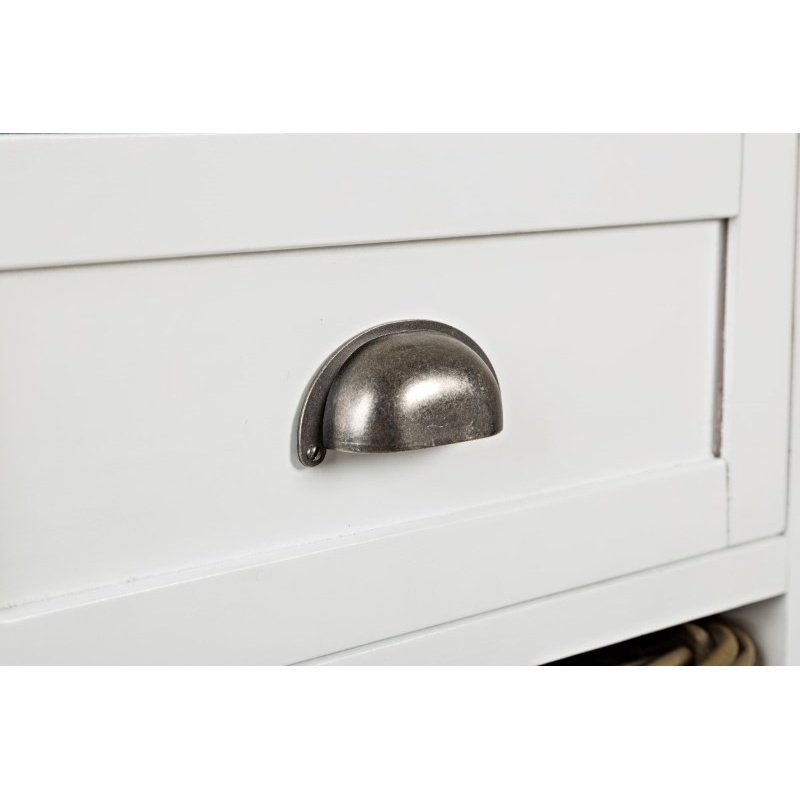 Jofran Natural Origins Large Accent Chest in Chatham White