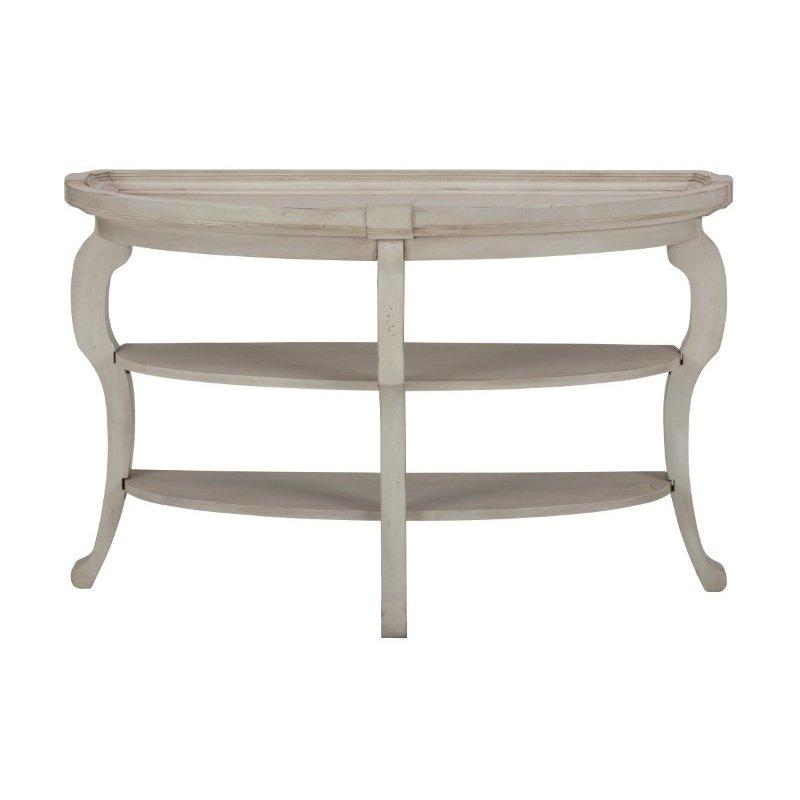 Jofran Sebastian Demilune Sofa Table