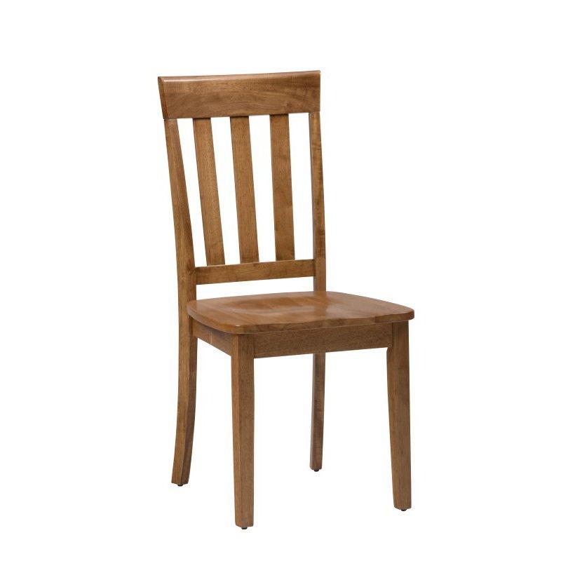 Jofran Simplicity Honey Slat Back Chair (Set of 2)