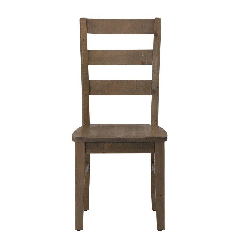 Jofran Slater Mill Pine Three Rung Ladderback Chair (Set of 2)