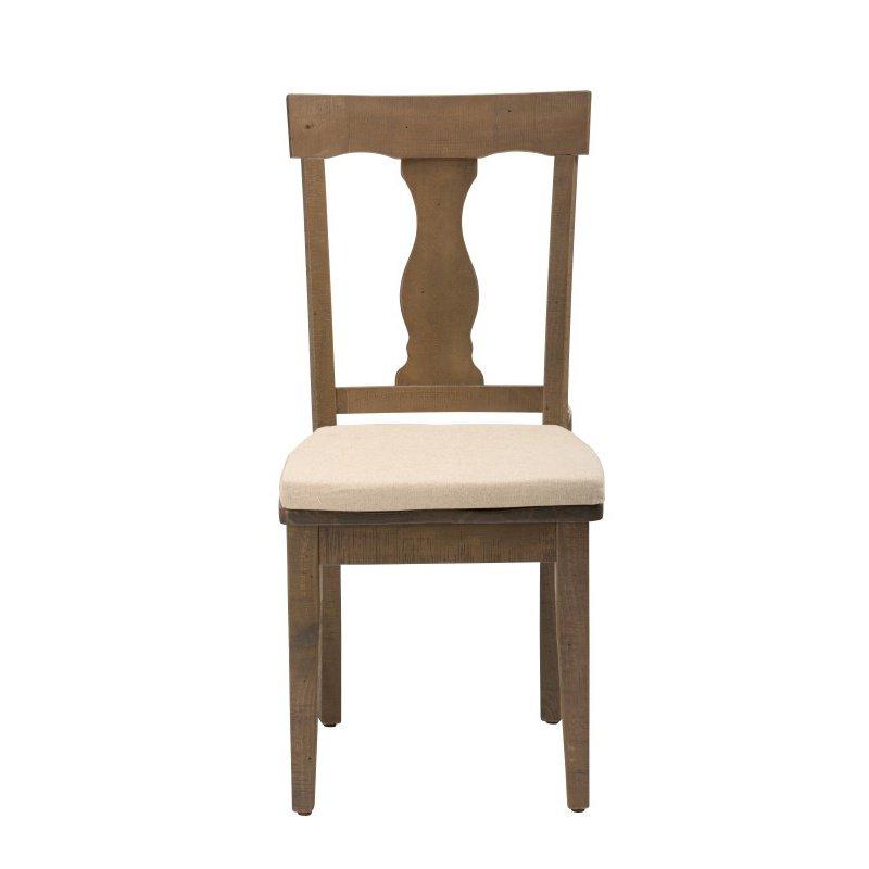 Jofran Slater Mill Reclaimed Pine Splat Back Dining Chair (Set of 2)