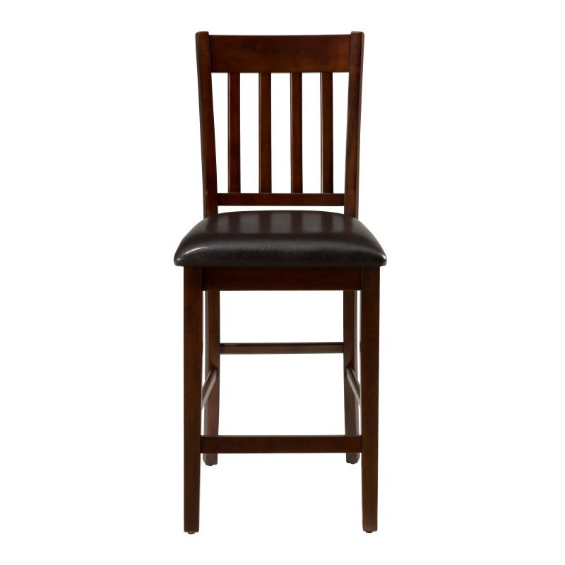 Jofran Tessa Chianti Upholstered Counter Height Stool (Set of 2)