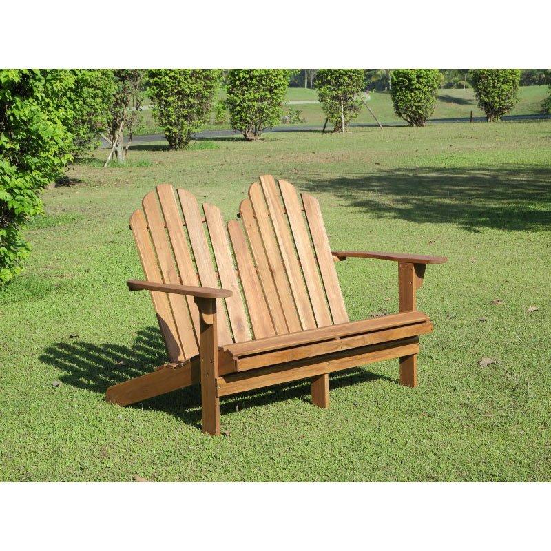 Linon Adirondack Double Bench