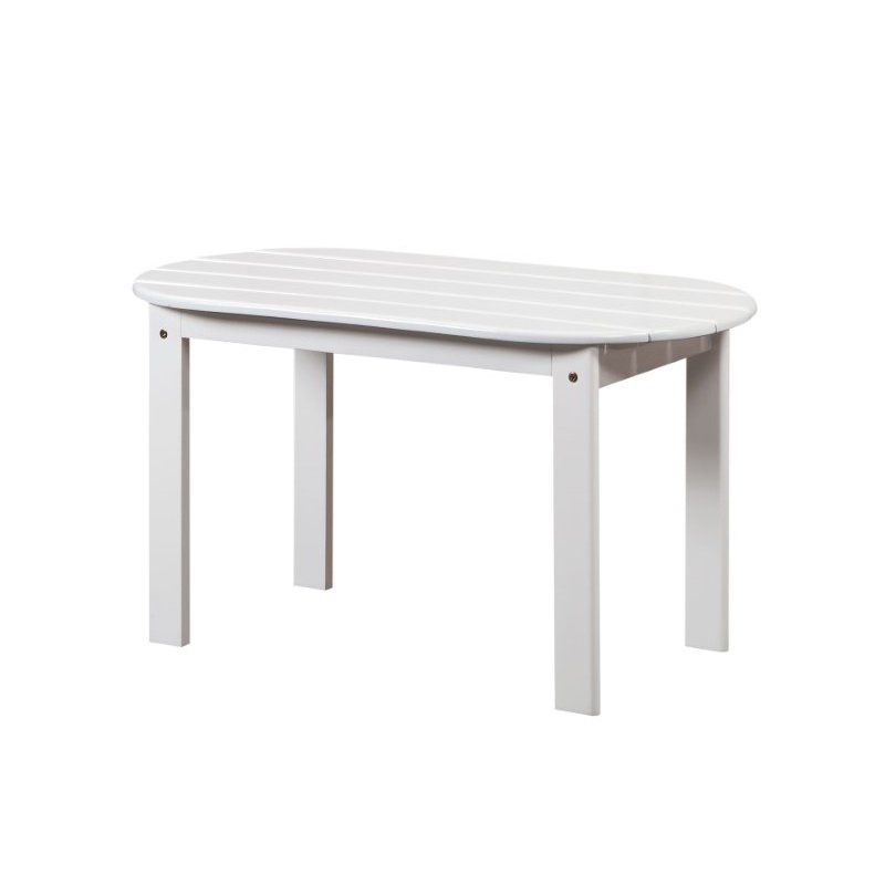 Linon Adirondack White Coffee Table