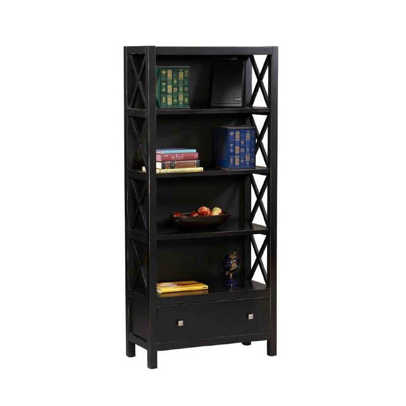 Linon Anna Collection 5 Shelf Bookcase