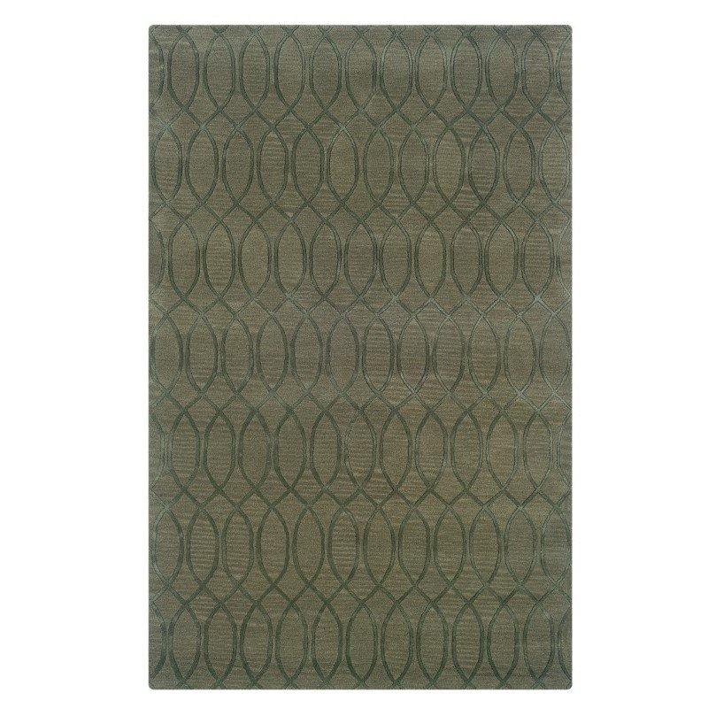 Linon Ashton SLSG59 Rug 5' x 8' Seaglass Rectangle