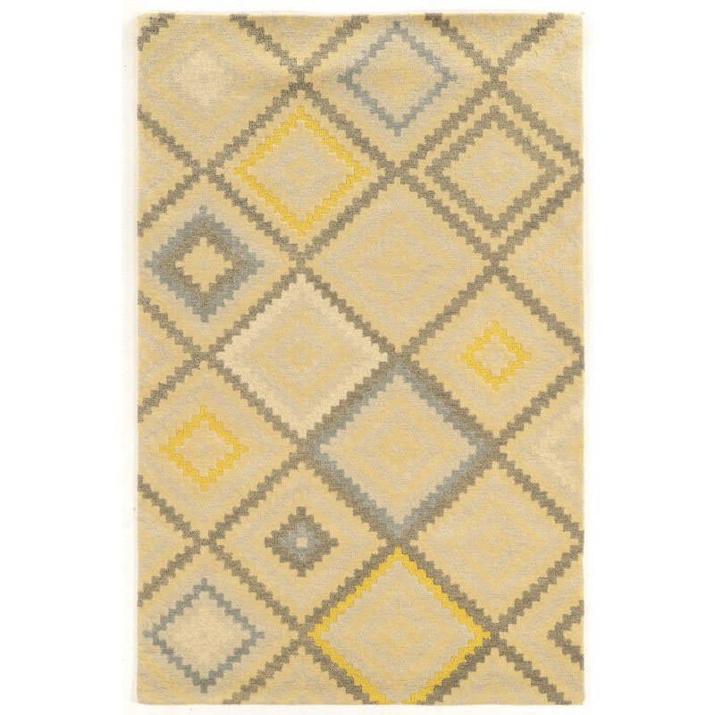 Linon Aspire Collection AE07 Rug 8' x 11' Natural and Grey Rectangle