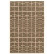 Linon Aspire Collection AE18 Rug 2' x 3' Taupe Rectangle
