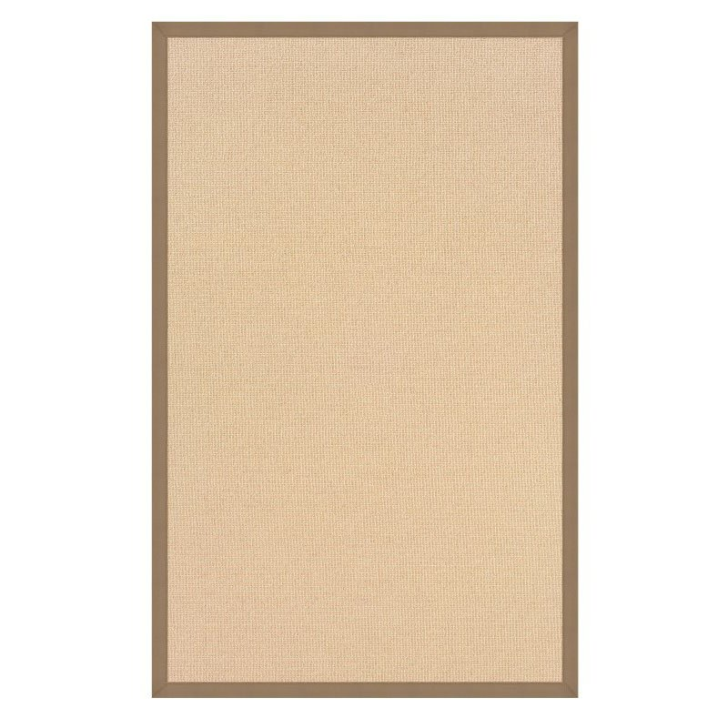 Linon Athena AT0102 Rug 5' x 8' Natural and Beige Rectangle