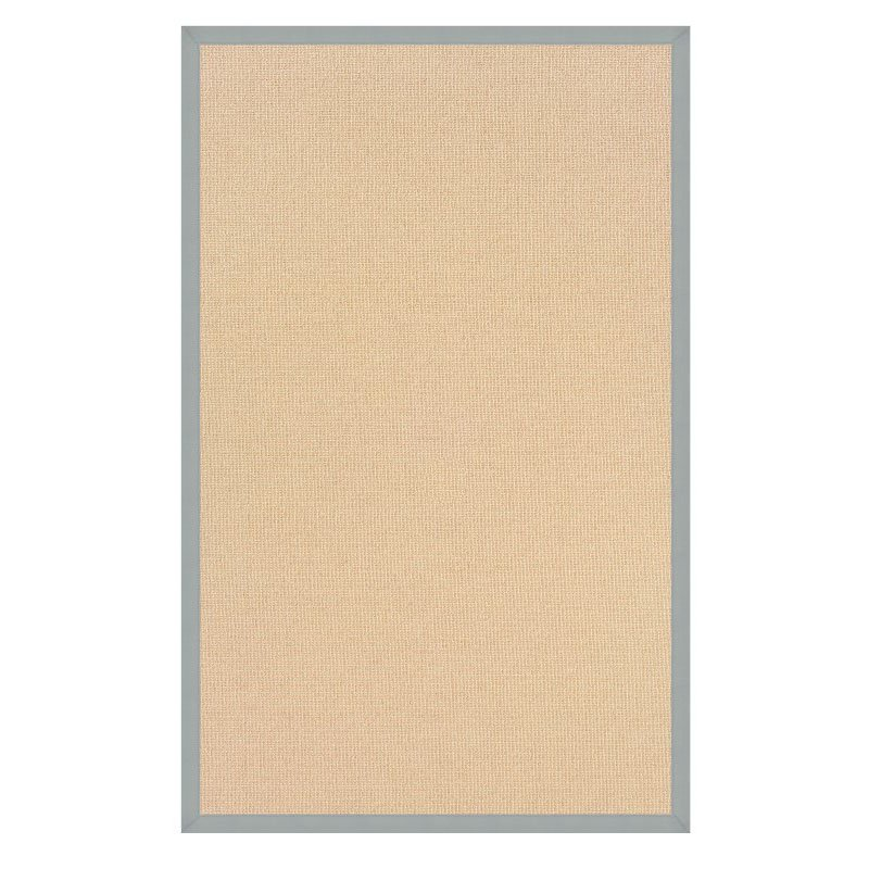 Linon Athena AT0109 Rug 5' x 8' Natural and Ice Blue Rectangle