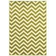 Linon Claremont Collection CT03 Rug 5' x 7' Green and Ivory Rectangle
