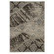 Linon Jewel Collection BYJ06 Rug 2' x 3' Brown and L Brown Rectangle