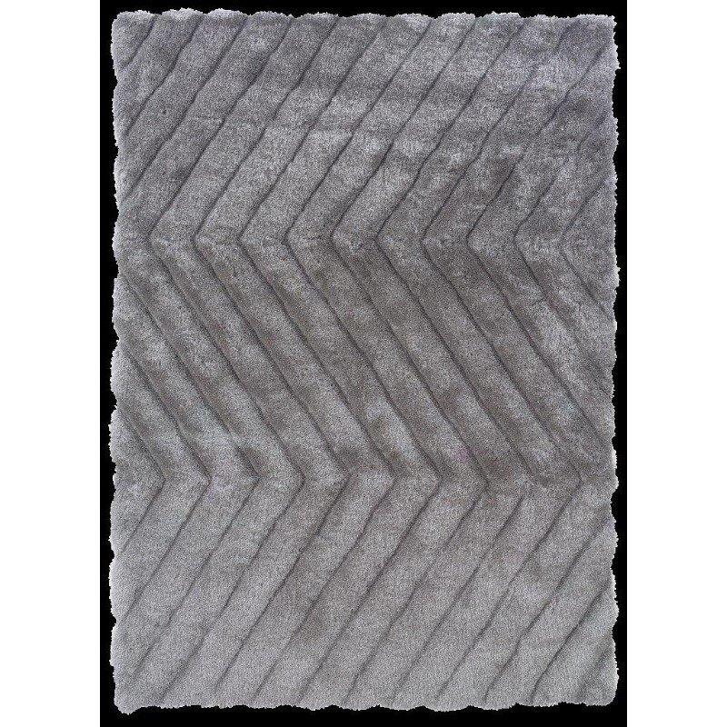 Linon Links Collection LK06 Rug 8' x 10' Grey Rectangle