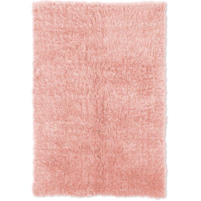 Linon New Flokati NFPP Rug 8' x 10' Pastel Pink and Pastel Pink Rectangle