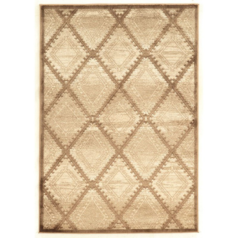 """Linon Platinum Collection PM09 Rug 5' x 7' 6"""" Beige and Cream Rectangle"""