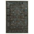 Linon Platinum Collection PM11 Rug 8' x 11' Blue and Black Rectangle