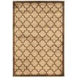 """Linon Platinum Collection PM18 Rug 5' x 7' 6"""" Beige and Brown Rectangle"""