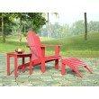 Linon Red Adirondack Chair
