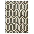 """Linon Roma Collection RA09 Rug 5' 3"""" x 7' Charcoal and Grey Rectangle"""