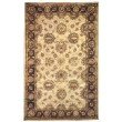 Linon Rosedown SLSG25 Rug 5' x 8' Pale Gold and Chocolate Rectangle