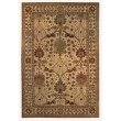 Linon Rosedown SLWW48 Rug 5' x 8' Beige and Spa Blue Rectangle