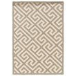 """Linon SILHOUETTE SH05 Rug 1' 10"""" x 2' 10"""" Grey and White Rectangle"""