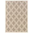 Linon SILHOUETTE SH09 Rug 8' x 10' Grey and White Rectangle