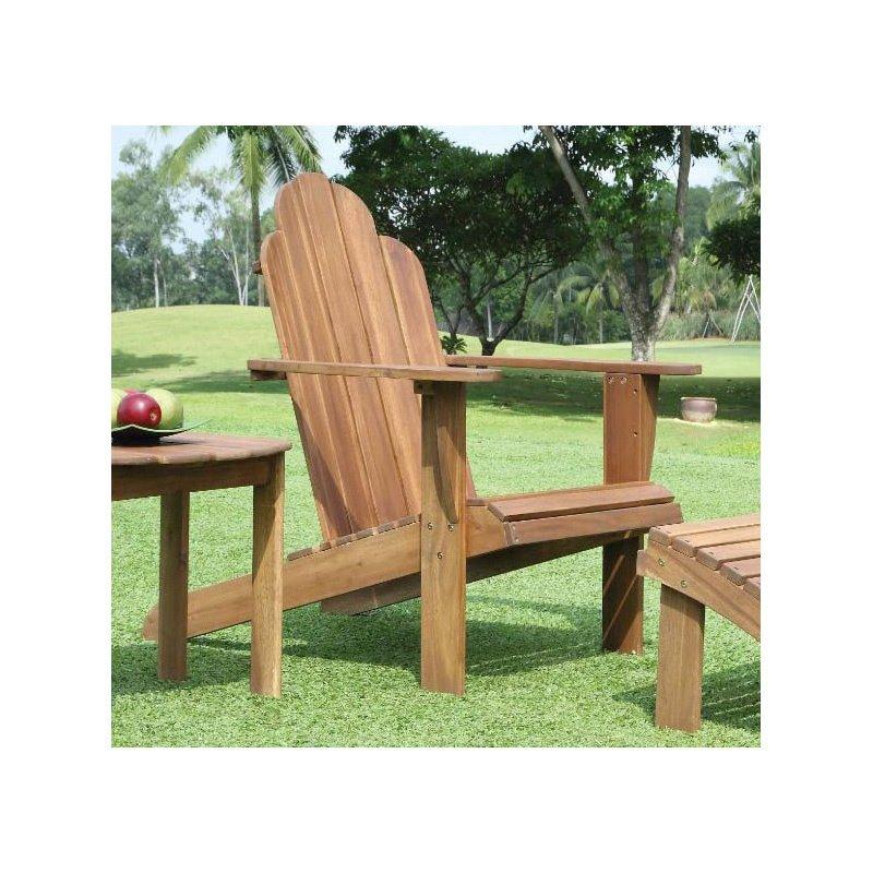 Linon Teak Adirondack Chair