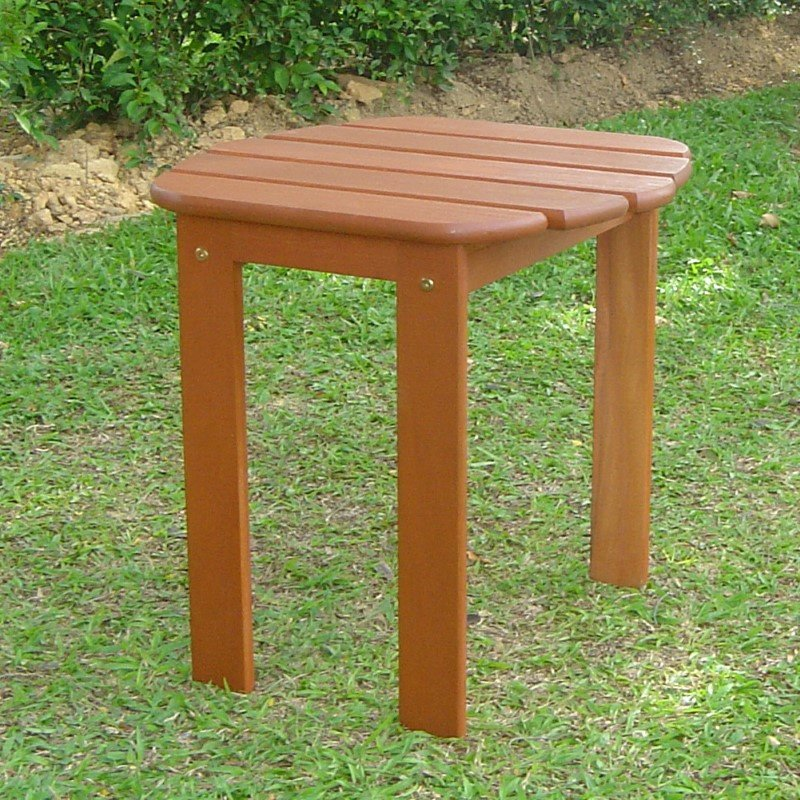 Linon Teak Adirondack End Table