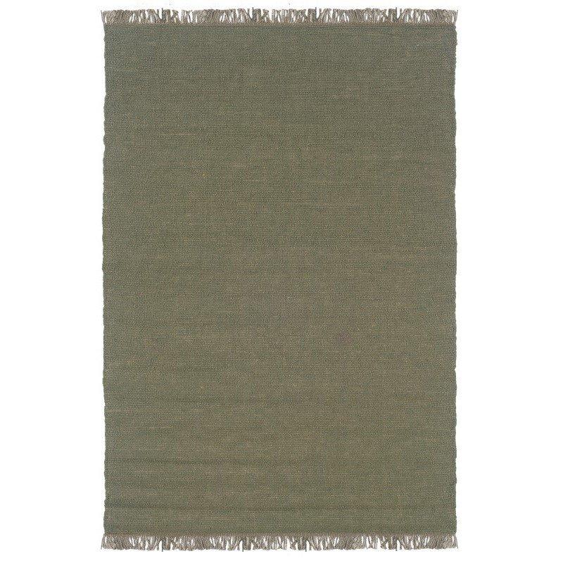 """Linon Verginia Berber VE503 Rug 7' 10"""" x 10' 4"""" Olive Rectangle"""
