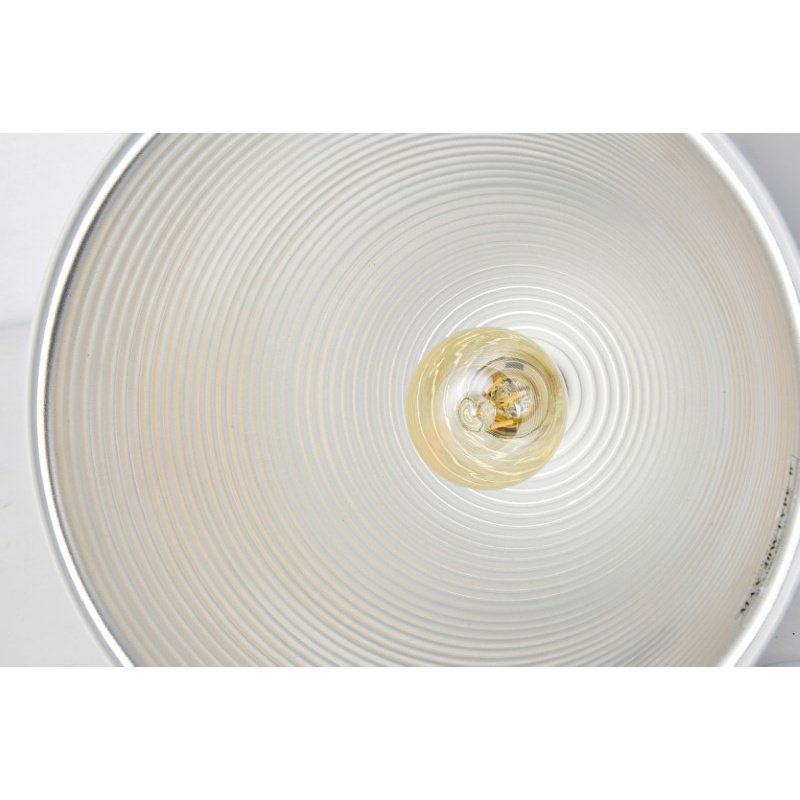 Living District Circa Collection Pendant D9.5in H10.5in Lt-1 frosted white Finish (LDPD2037)