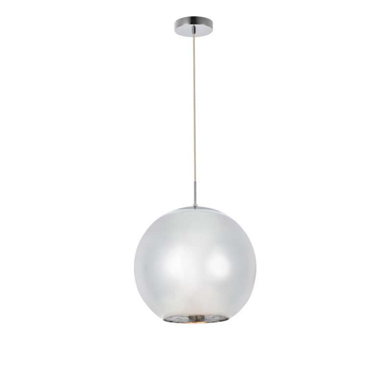 Living District Reflection Collection Pendant D11.5in H11in Lt-1 Chrome finish (LDPD2007)